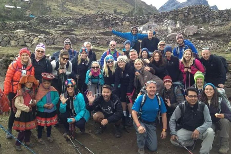 Maxine's Lares trek in Peru for Coppafeel